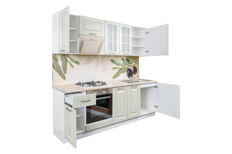 Кухня Елла. Модульный кухонный гарнитур Ирпень Буча Киев. Купить мебель на кухню, магазин мебельной мастерской SETTER