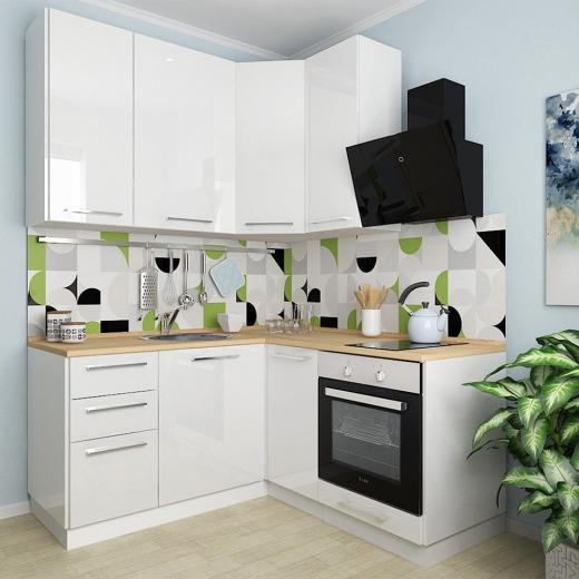 Готовая кухня Ника Ирпень Буча. Модульный кухонный гарнитур Ирпень Буча Киев. Купить мебель на кухню, магазин мебельной мастерской SETTER