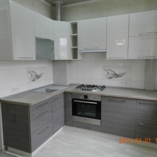 Пример. Готовая кухня на заказ Немешаево. Выполненные работы