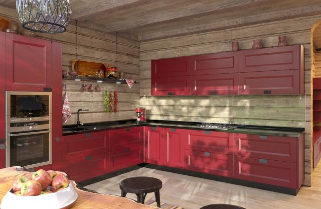 Кухня на заказ Ирпень. Изготовление кухонь, компания SETTER
