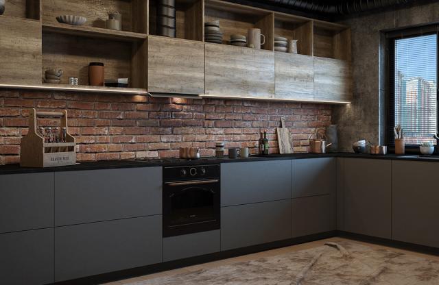 Кухни МДФ на заказ Киев, Ирпень, Буча. Изготовление мдф кухонь на заказ