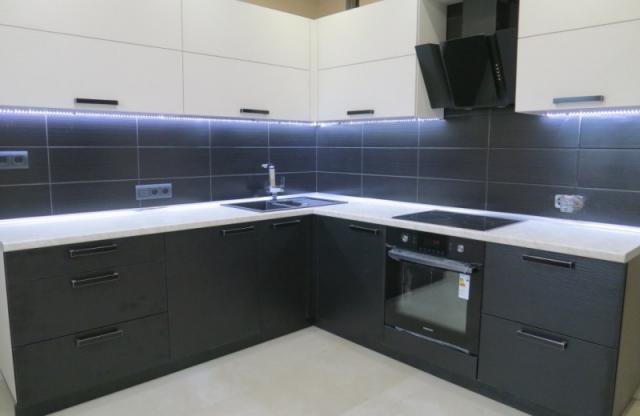 Пример. Готовая кухня на заказ Бровары. Выполненные рабо